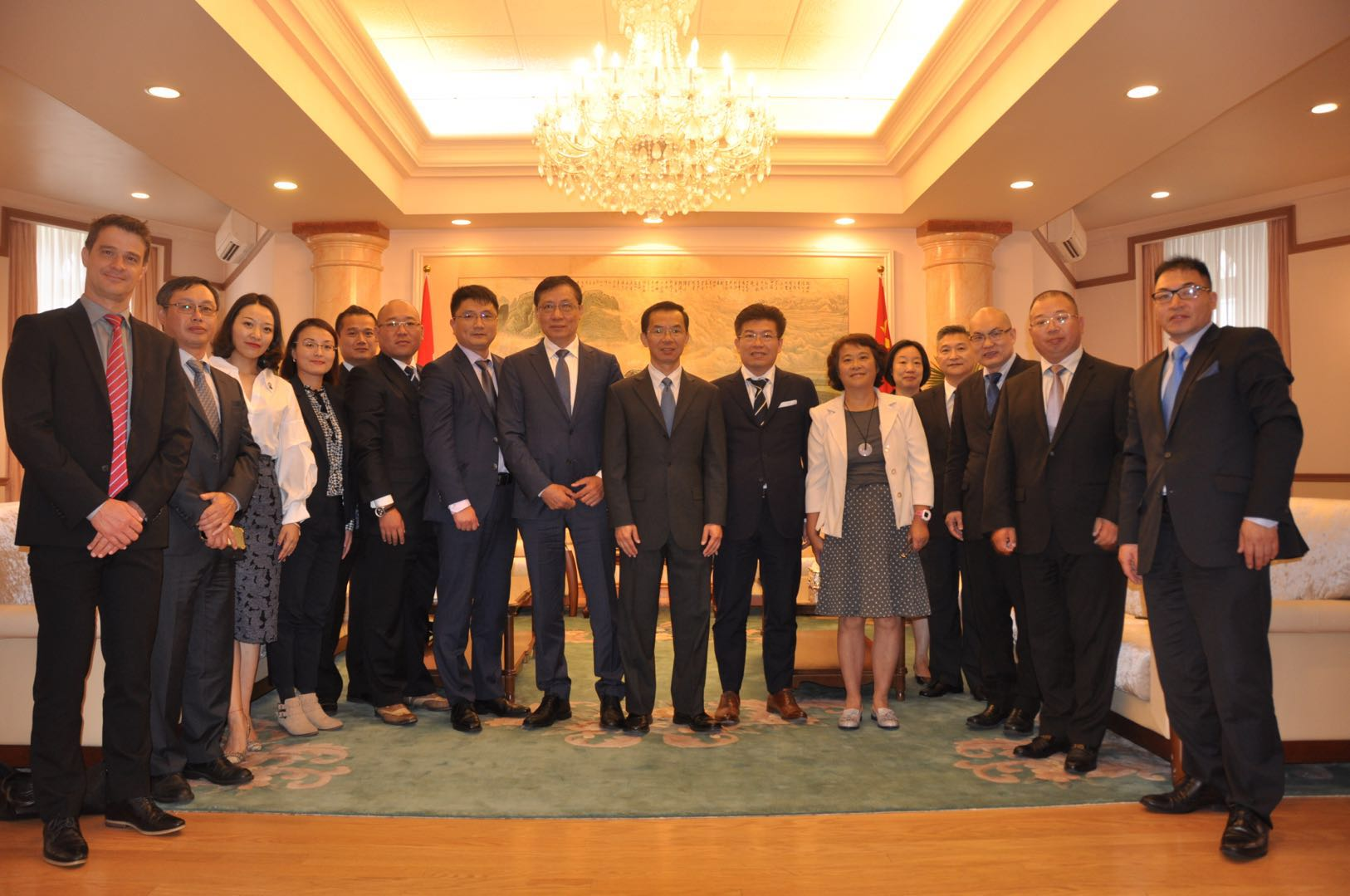 CCEC visits Chinese Embassy in Ottawa and Senate of Canada